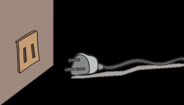 zástrčka s kabelem