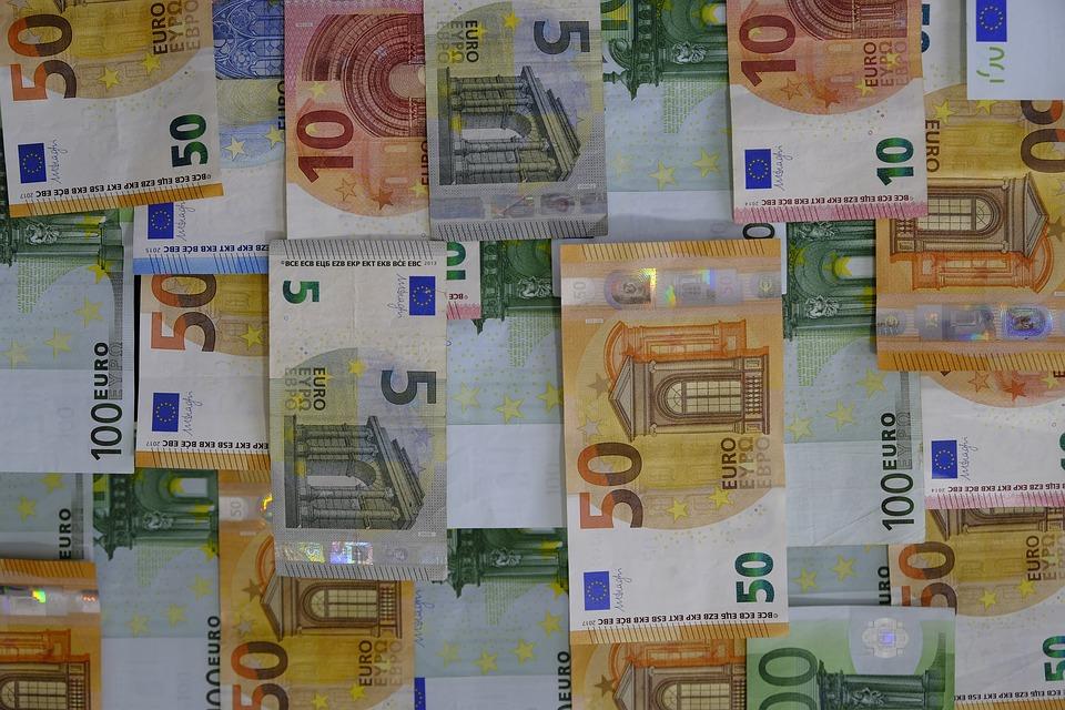 peníze evropské